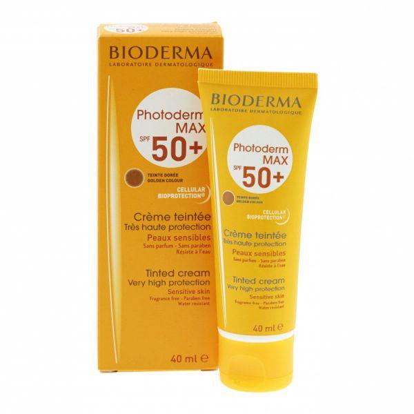 Bioderma Photoderm Max Spf 50+ UVA 38 Crema Colorata Golden 40 ml