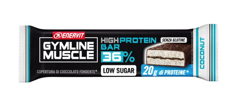 Gymline Muscle Protein Bar 36% Coconut