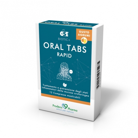 GSE Oral Tabs Rapid Gusto Agrumi 12 Compresse