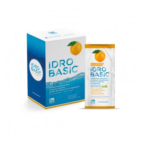 Idrobasic Citrato di Potassio e Magnesio 15 Bustine Arancia