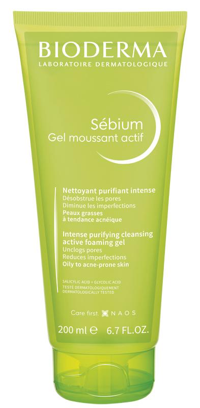 Bioderma Sebium Gel Moussaint Actif 200ml
