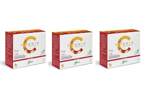 Aboca Vitamin C 20 Bustine Gusto Agrumi SPECIAL PROMO 3 scatole da 20 bustine