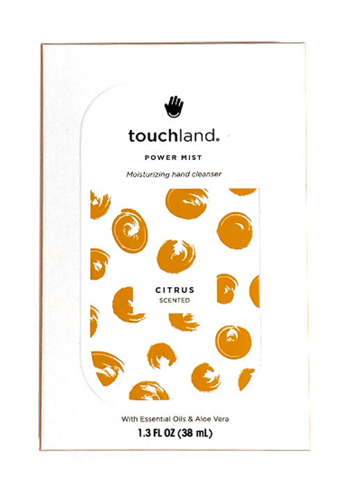 Touchland Igienizzante Mani Spray 38ml Fragranza Agrumi