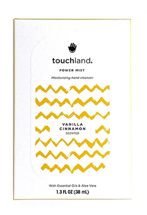 Touchland Igienizzante Mani Spray 38ml Fragranza Vaniglia Cannella