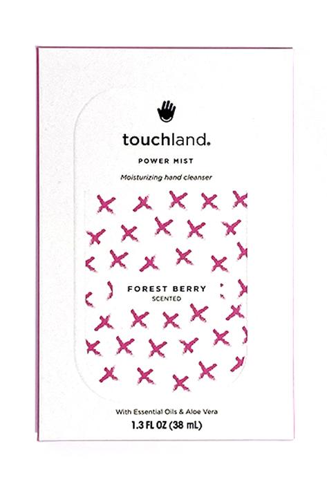 Touchland Igienizzante Mani Spray 38ml Fragranza Frutti di Bosco