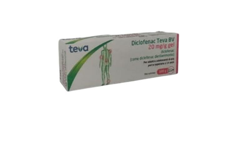 Diclofenac Teva Gel 100G 20Mg/g