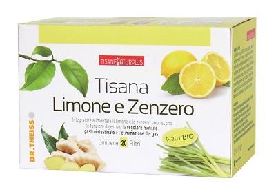 Dr Theiss Naturplus Tisana Limone e Zenzero 20 Flitri
