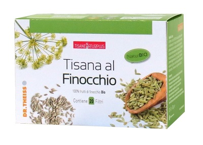 Dr Theiss Naturplus Tisana al Finocchio 20 Filtri