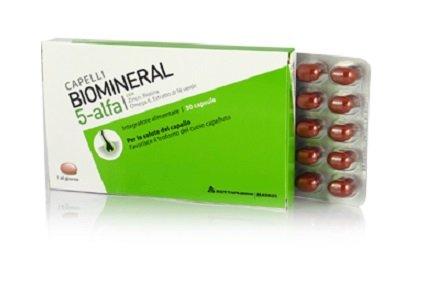 Biomineral 5 alfa integratore alimentare
