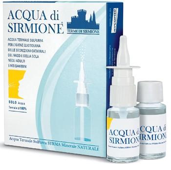 Acqua Di Sirmione 6 Flaconcini da 15ml Soluzione Nasale