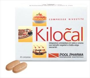Pool Pharma Kilocal integratore alimentare 20 compresse +10 omaggio