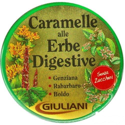 Caramelle Alle Erbe Digestive Giuliani Senza Zucchero