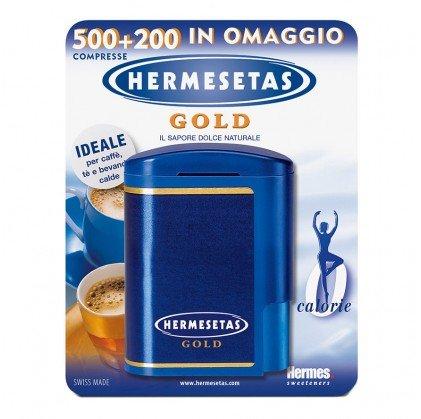 Hermesetas Gold 500+200 Compresse Dolcificante Acalorico