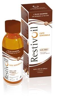 Restivoil olio shampoo fisiologico per cute sensibile
