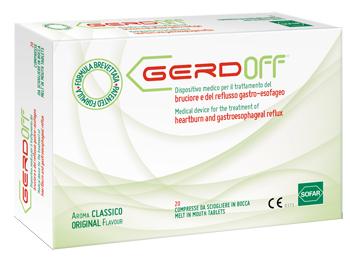 Gerdoff 20 Compresse Bruciore e Reflusso Gastro Esofageo