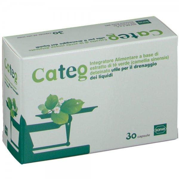 Categ 30 Capsule Estratto Thé Verde