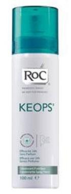 Roc keops Deodorante Spray Fresco 100ml