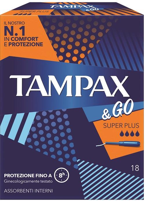 Tampax e Go Super PLus 18 Pezzi