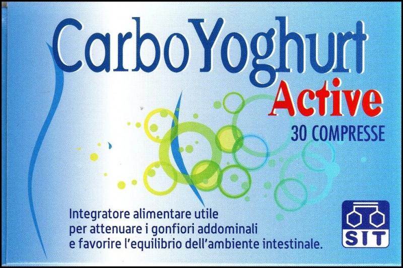 Sit carboyoghurt active compresse.