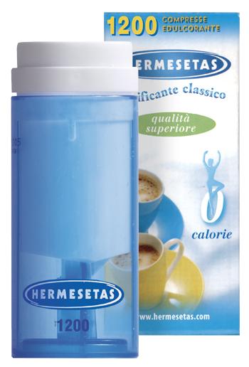 HERMESETAS ORIGINAL DOLCIFICANTE 1200 COMPRESSE