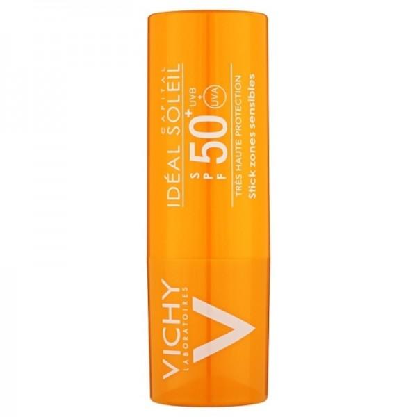 Vichy A Ideal Soleil Stick Zone Sensibili SPF50+