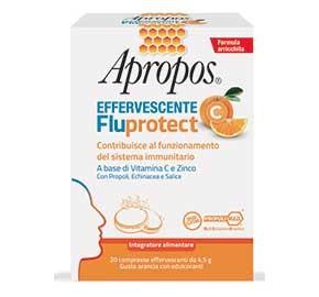 Apropos Fluprotect effervescente  compresse gusto arancia