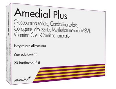 Amedial Plus 20 Bustine Cartilagini