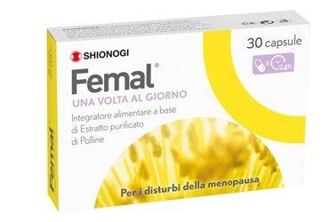 FEMAL A BASE DI ESTRATTO DI POLLINE PER LA MENOPAUSA 30CPRESSE