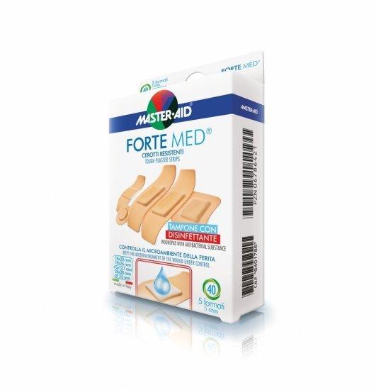 Master Aid Forte Med Cerotti Resistenti 40 Pezzi