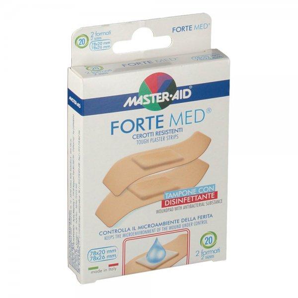 Master Aid Forte Med Cerotti Resistenti 20 Pezzi