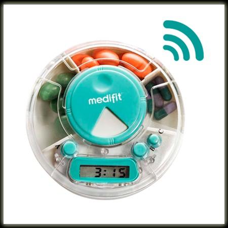 Innoliving Medifit portapillole con  timer e avvisatore