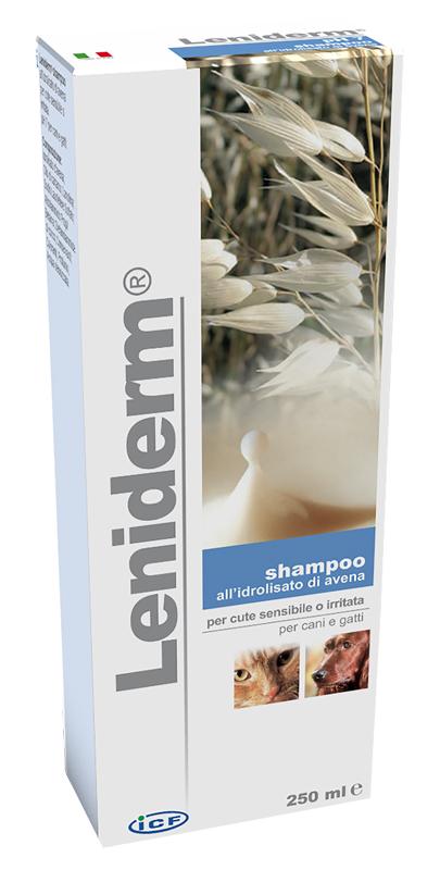 Leniderm Shampoo Cani Gatti 250 ml Ph 7